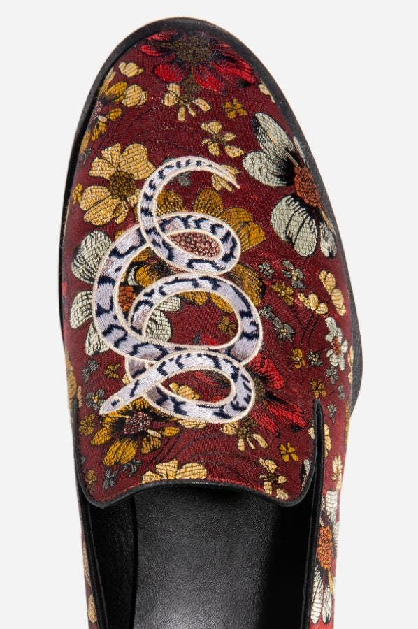 JACQUARD LOAFER