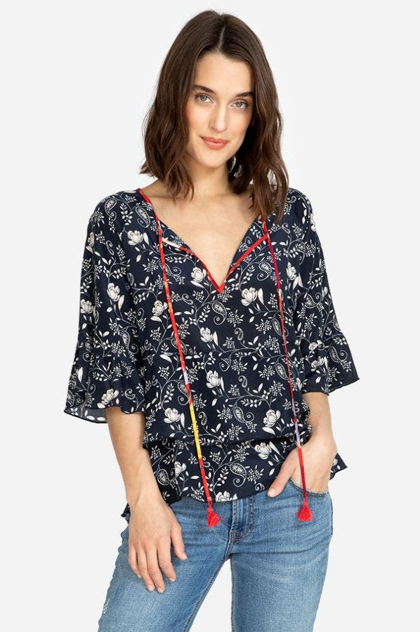 LAGO TIERED TOP