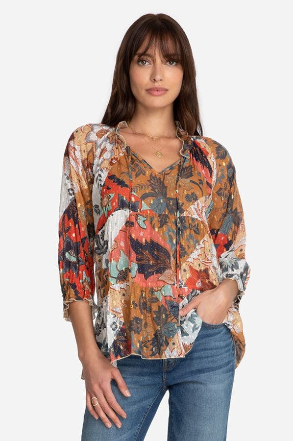 CLAIRE TIERED TOP