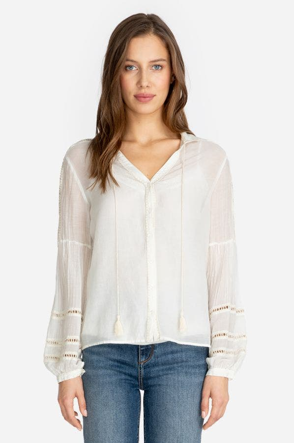 DOLORES PIECED TOP