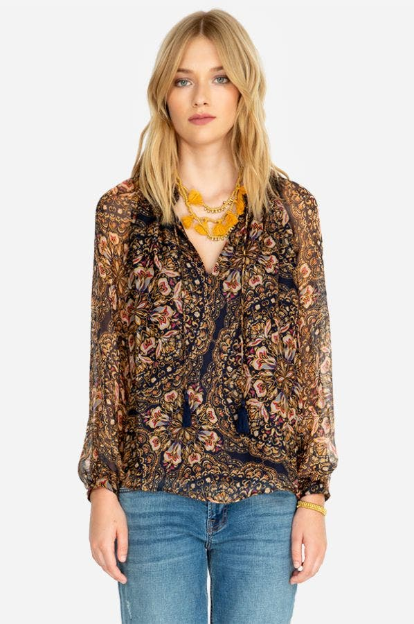 RILEY PEASANT TOP