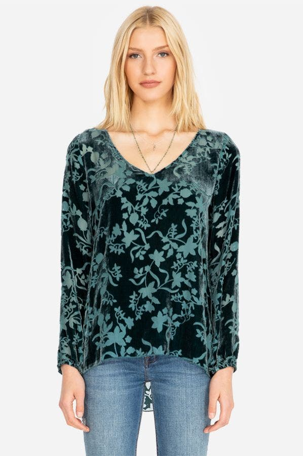 DEAN V-NECK BLOUSE