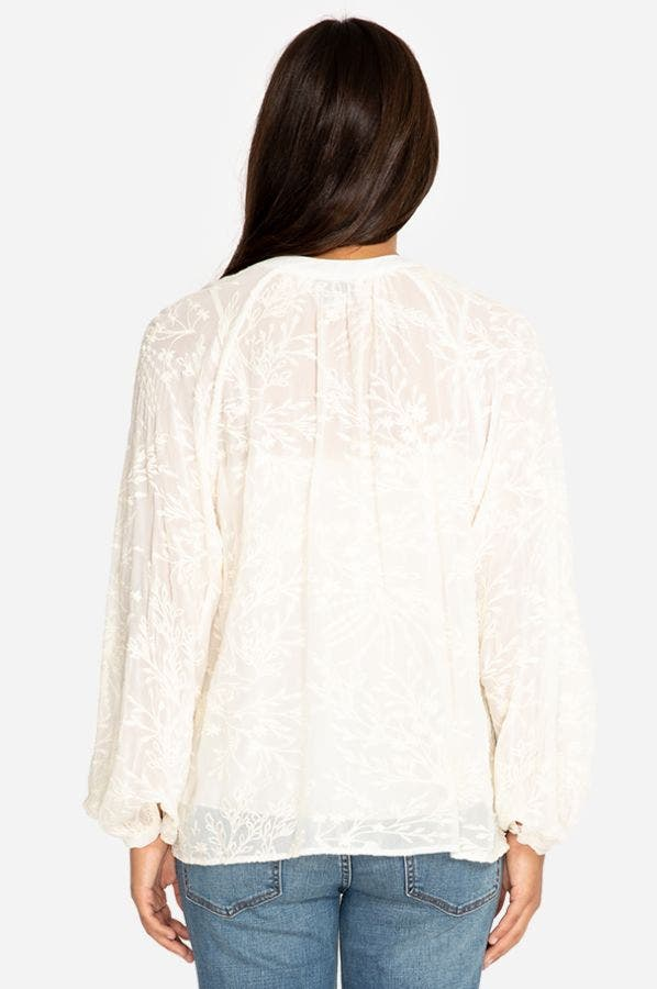 ROSANNA EMBROIDERED TOP