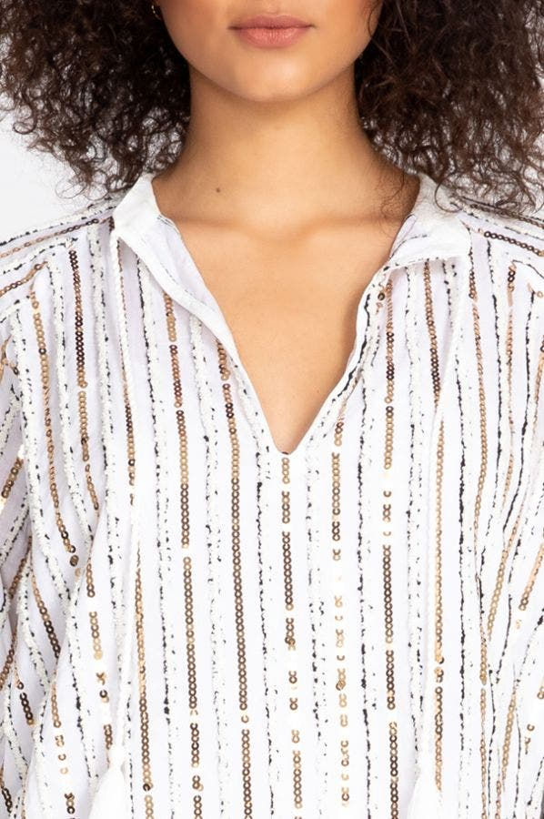 EDEN SEQUIN TOP
