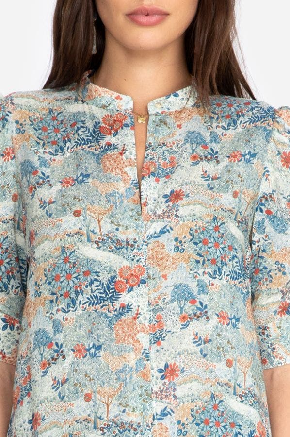 LURENE BUTTON DOWN SHIRT