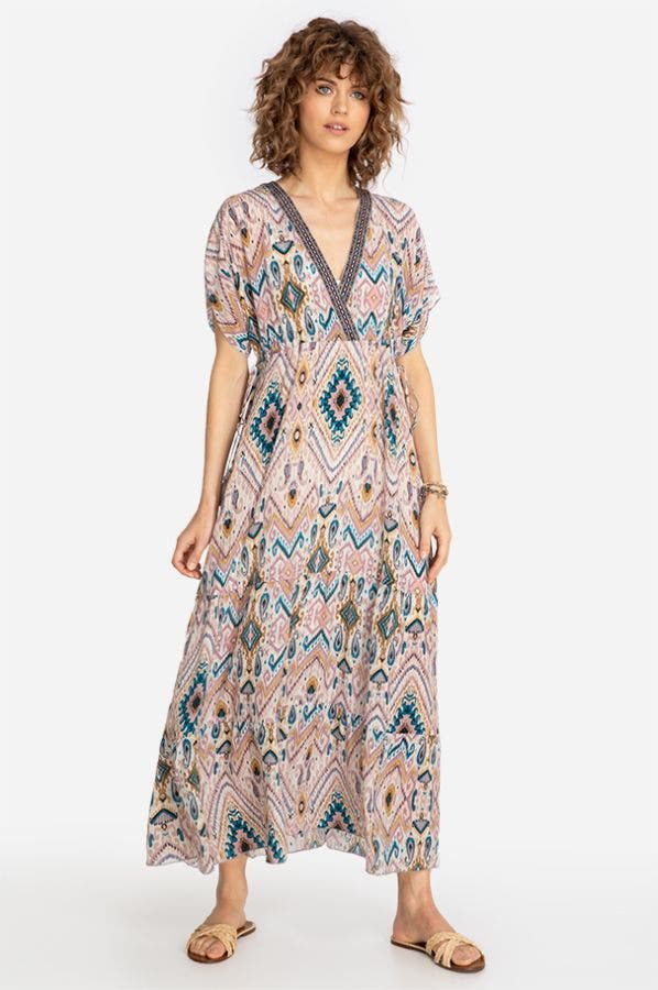 ALONA TIERED MAXI DRESS