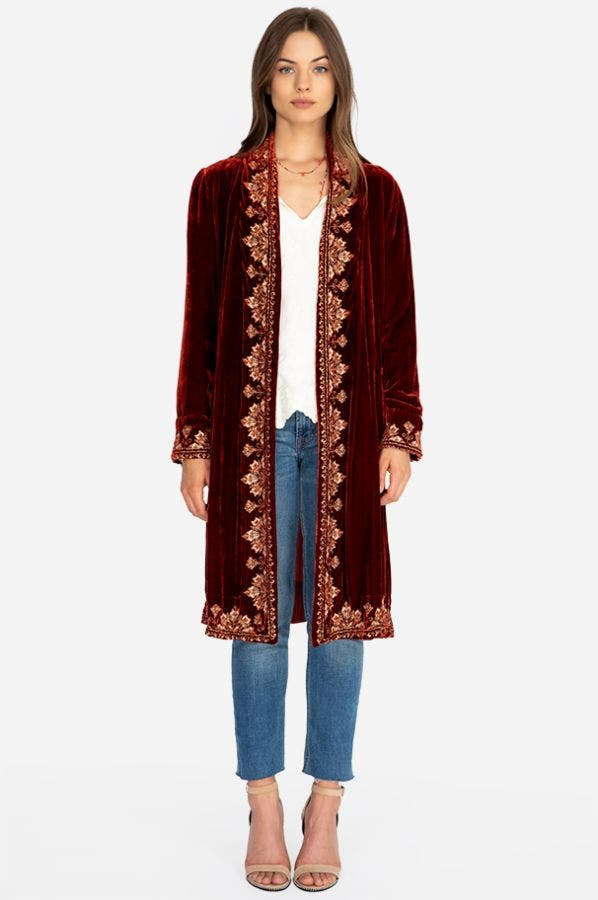 DAKOTA EMBROIDERED JACKET