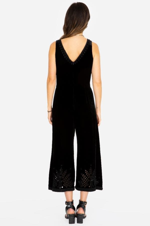 LILLY EYELET JUMPSUIT
