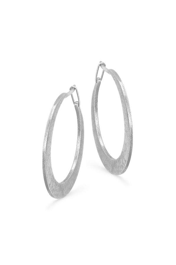 Medium Crescent Hoops