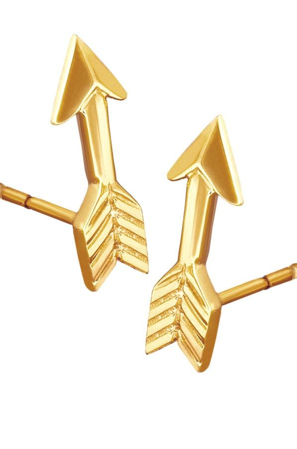 ARROW - LOVE STRUCK STUD EARRINGS