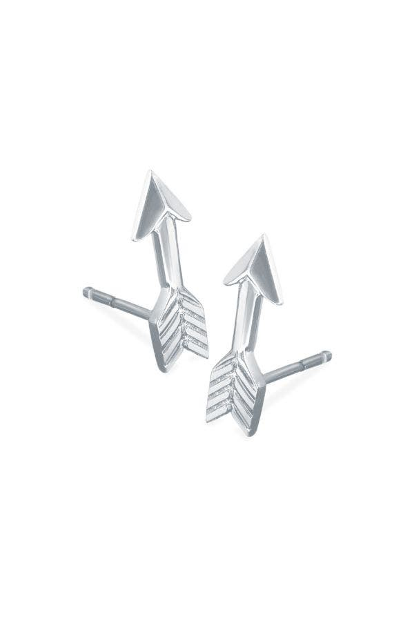 Love Struck Arrow Stud Earrings