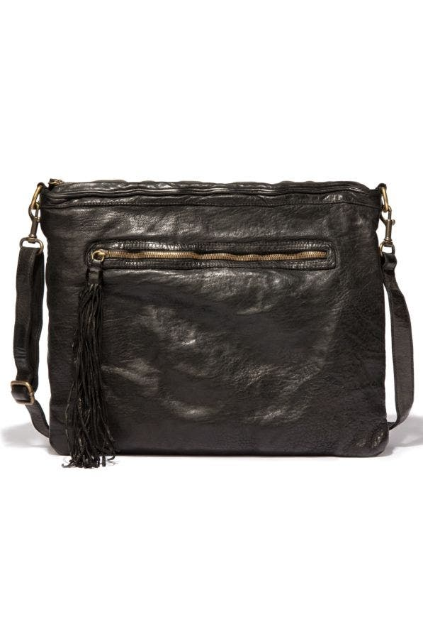 Allegra Washed Leather Cross Body Bag