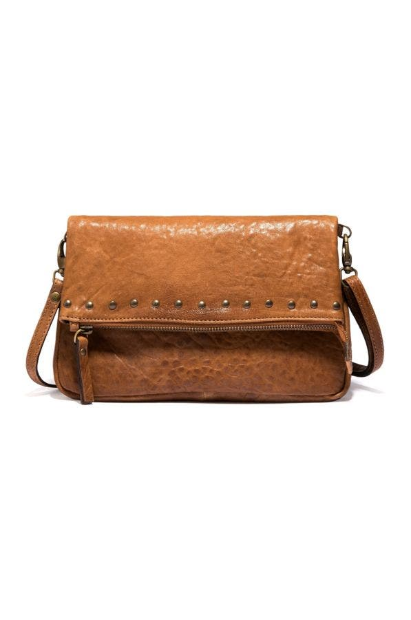 BRIA ITALIAN LEATHER CROSSBODY BAG