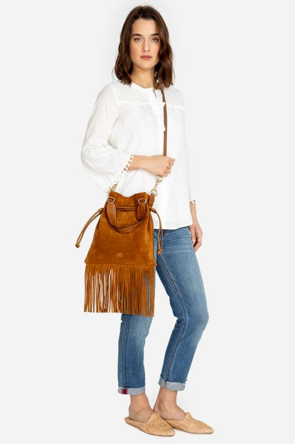 MOLLY FRINGE BAG