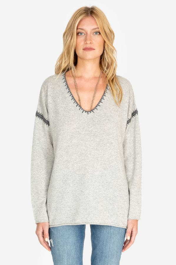 WHIP STITCH PULLOVER