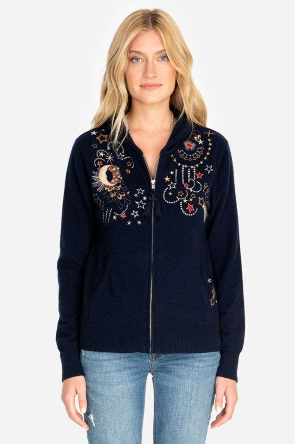 CALLISTO EMBROIDERED HOODIE