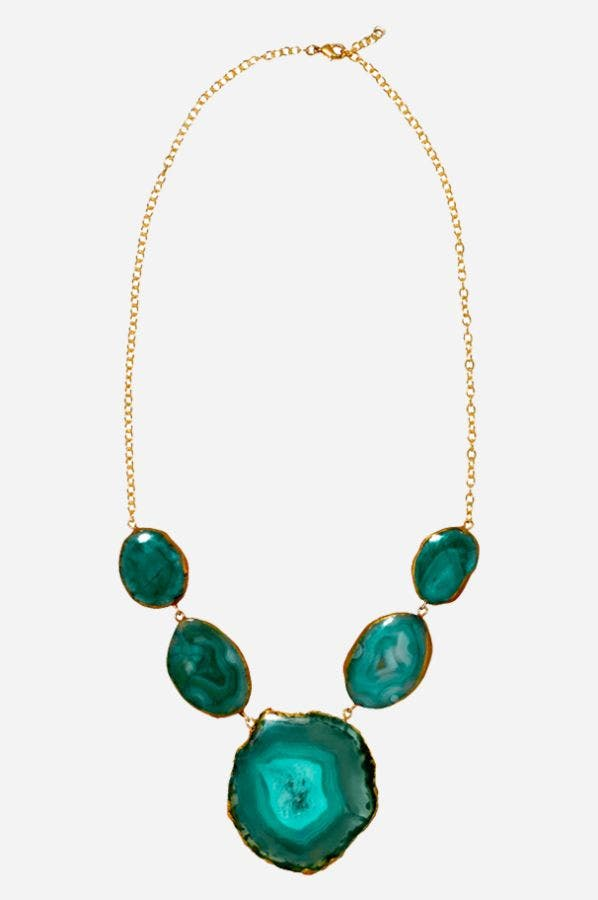 GREEN REEF RUNNER NECKLACE