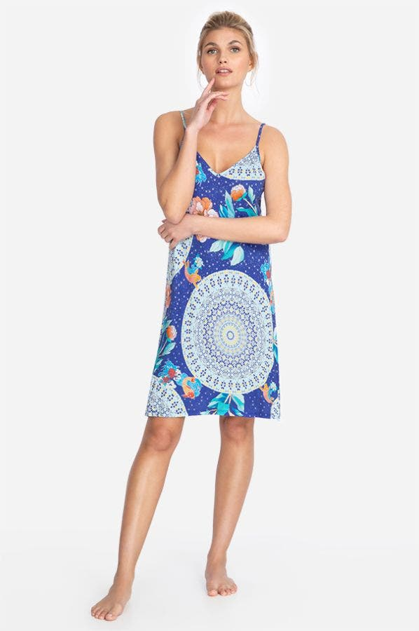 COI SHORT SLEEP DRESS
