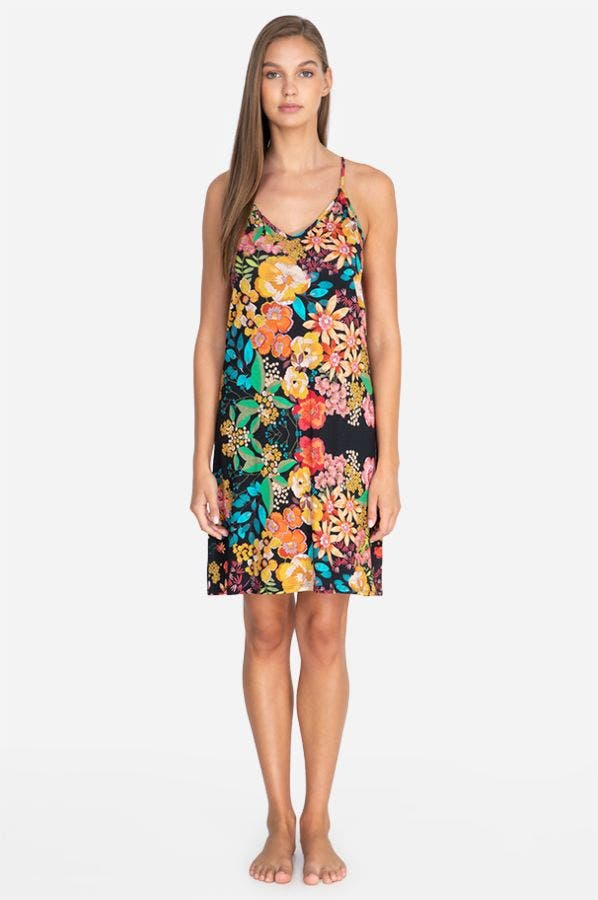 CAMELLA SLIP DRESS