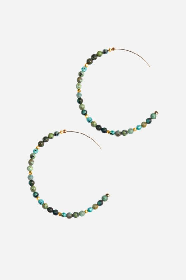 JEMMA HOOP EARRINGS