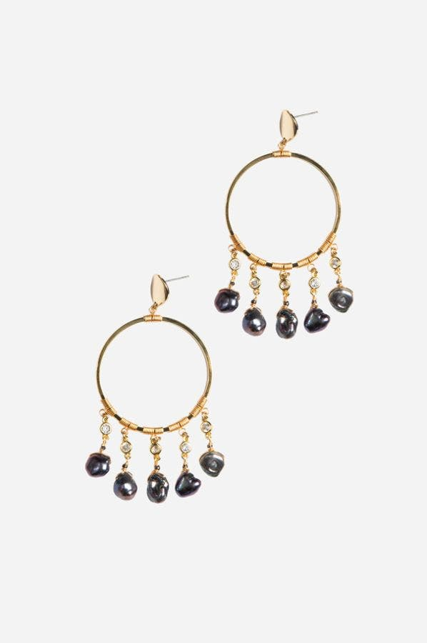 SASHA HOOP EARRINGS