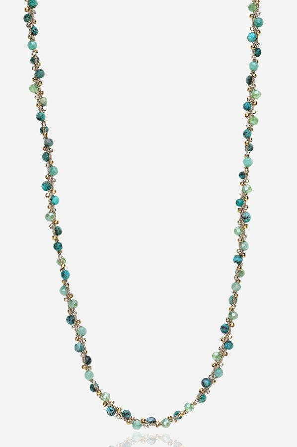 LILLY BEADED NECKLACE