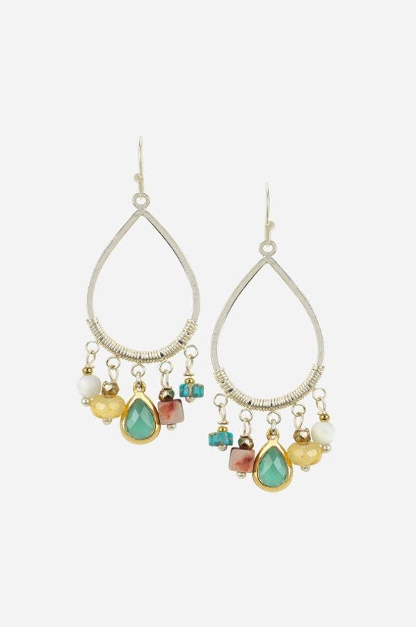 ANDREA BEADED EARRINGS