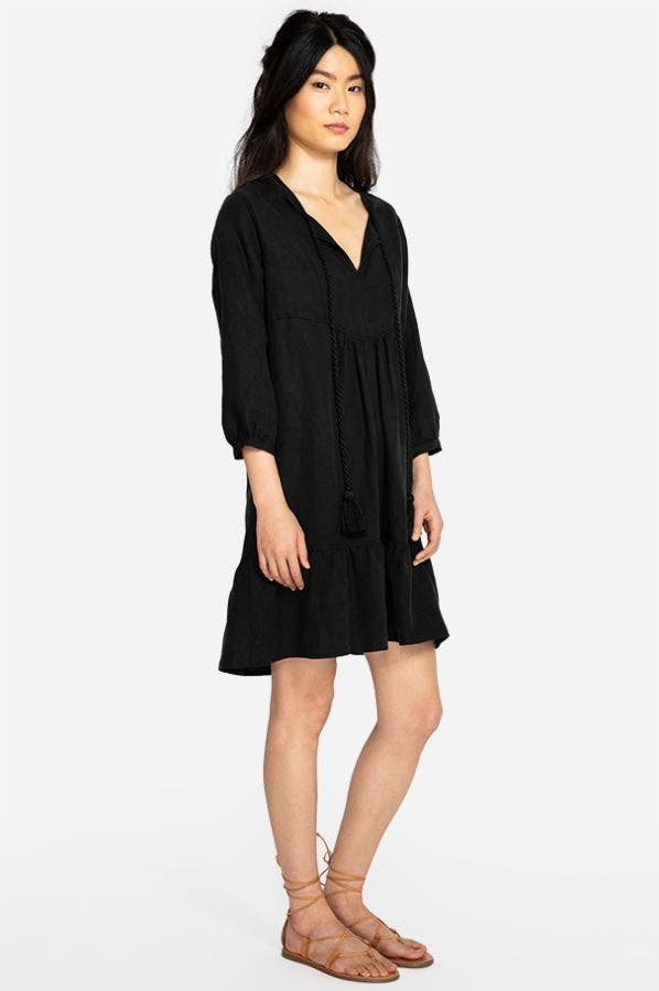 EFFORTLESS BOHO FLOUNCE DRESS