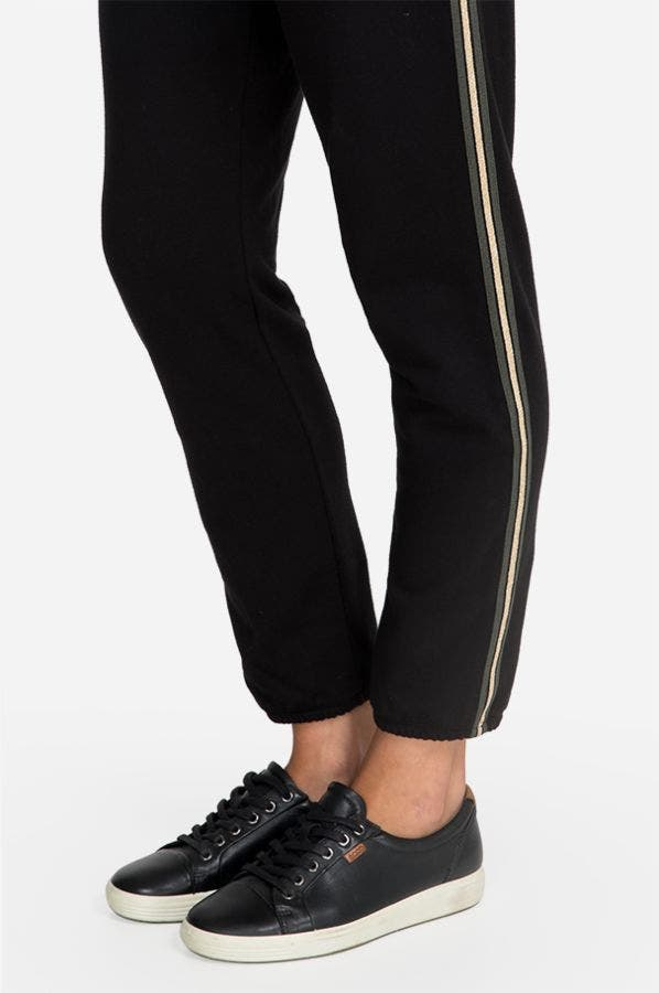 METALLIC STRIPE  JOGGER