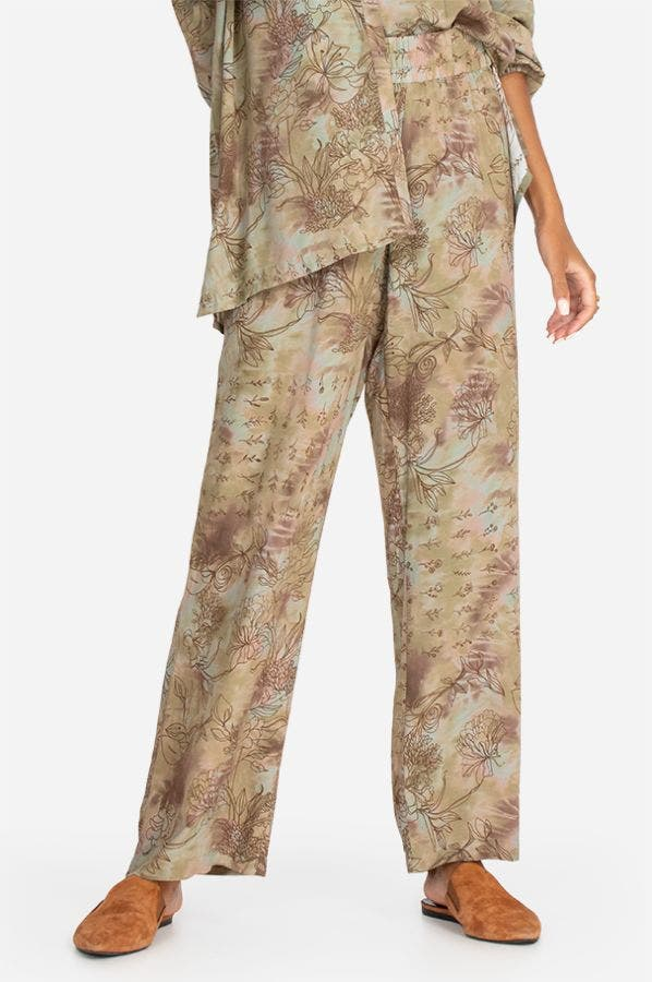 WIDE LEG PULL-ON PANT