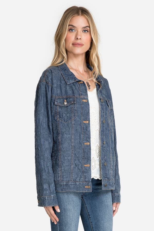 QIVA DENIM JACKET