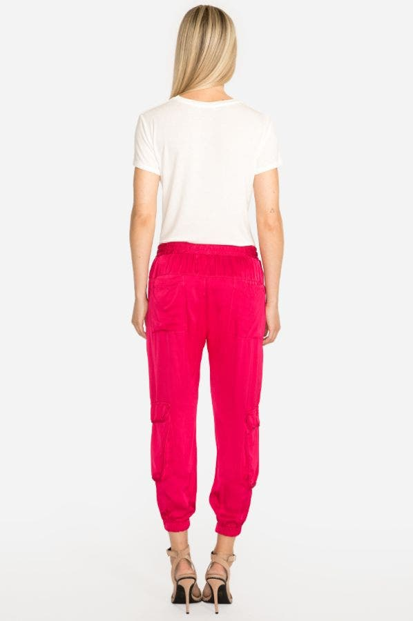 RAY SATIN PULL ON PANT