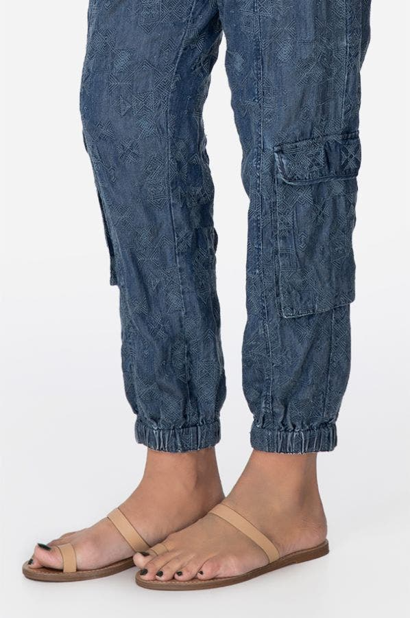 PACE DENIM PULL-ON  PANT