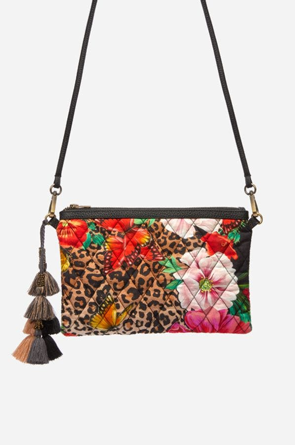 SANDRA QUILTED CROSS BODY BAG