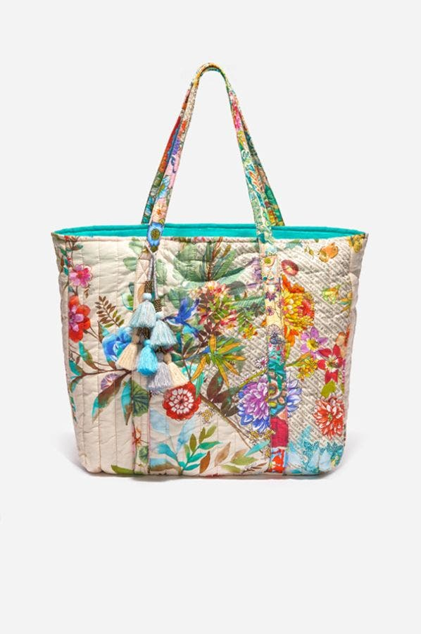 DREAMER QUILTED TOTE