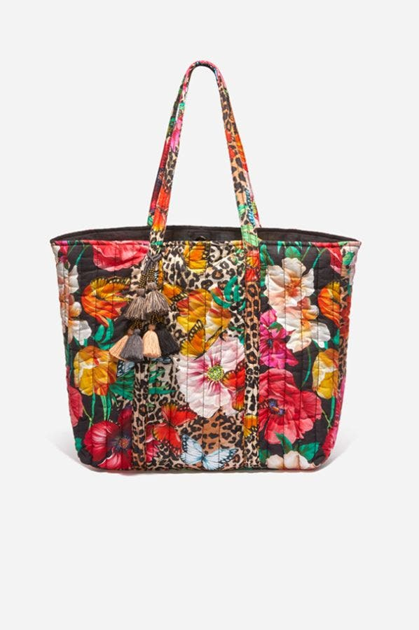 SANDRA QUILTED TOTE