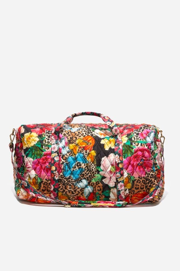 SANDRA QUILTED DUFFEL BAG