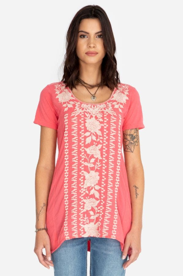 LETTY WOVEN TUNIC