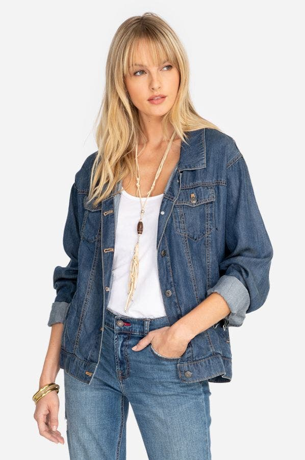 LOVE DENIM JACKET