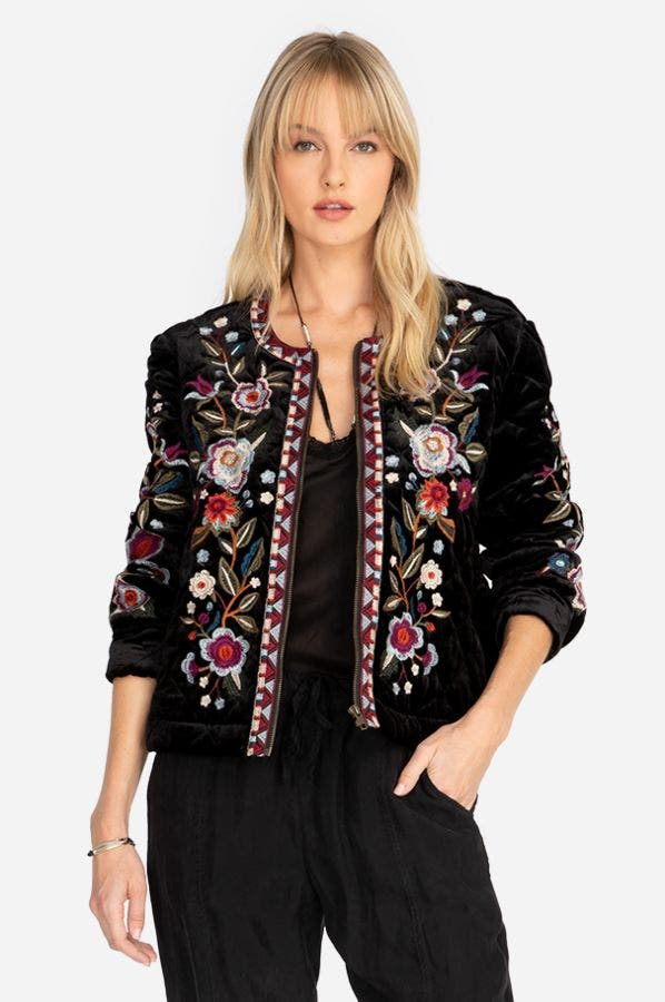 MAHEA CROP JACKET