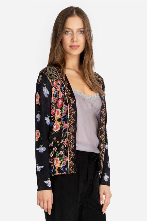 MAYANN SHORT CARDIGAN