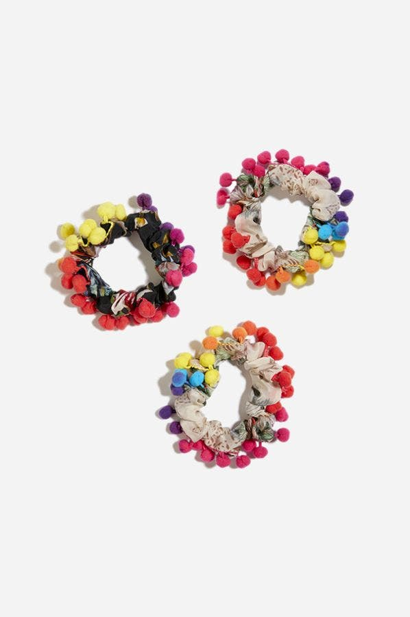 SIOBHAN SCRUNCHIE - FIVE PACK