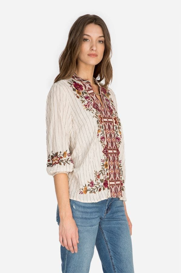NEPAL EFFORTLESS SWING BLOUSE