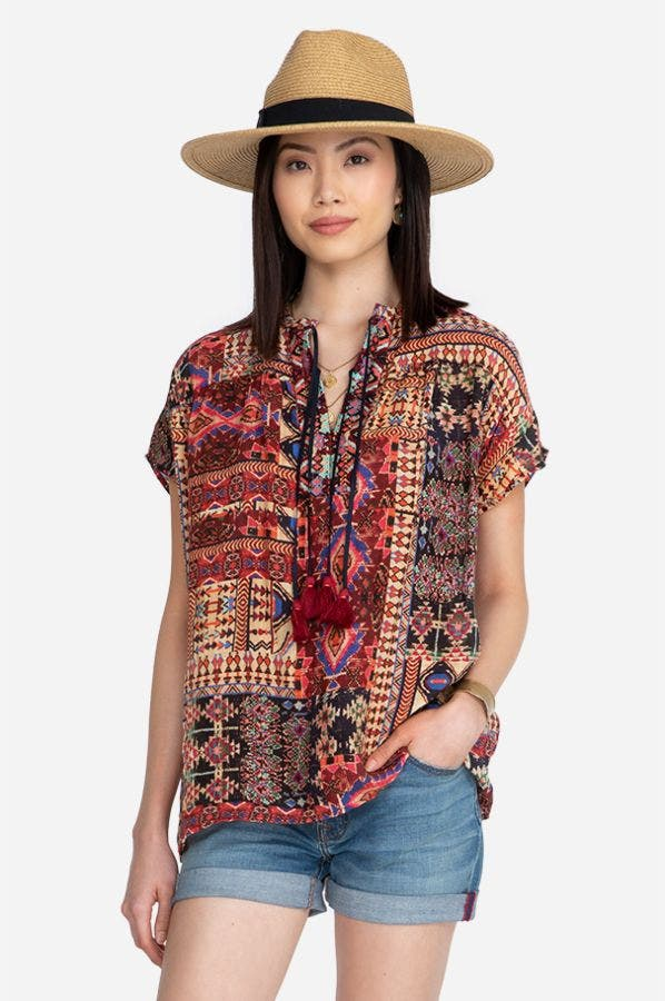 DOUBLE TASSEL TOP