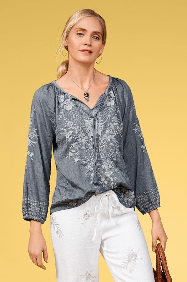 OLEANDER MARRAKESH BLOUSE