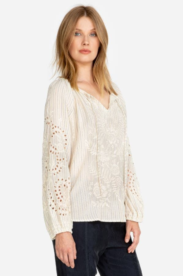 IVORY MARRAKESH BLOUSE