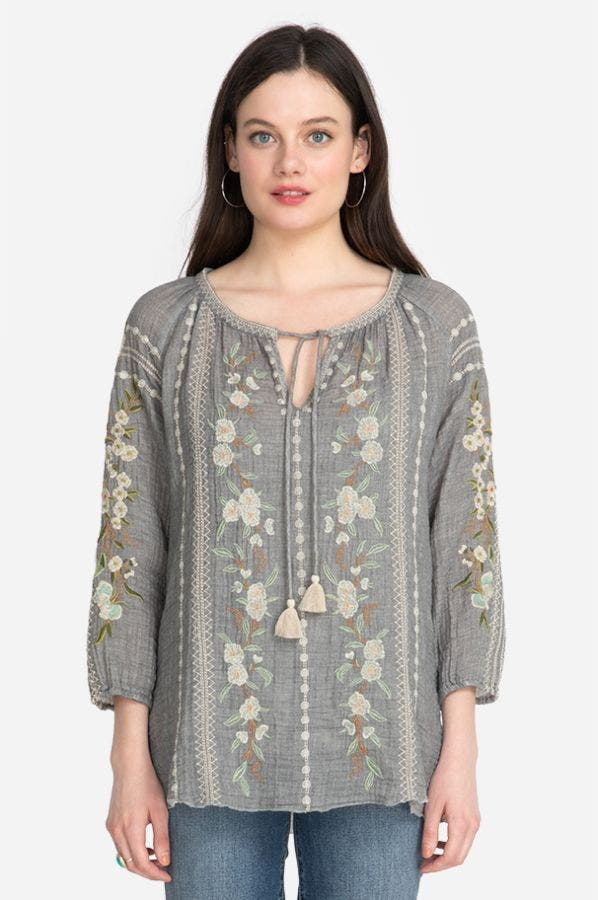 GIANNA PEASANT BLOUSE