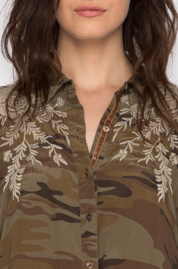 Lennon Swing Shirt Tunic