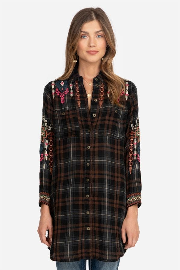 YADANI TRAVEL SHIRT TUNIC