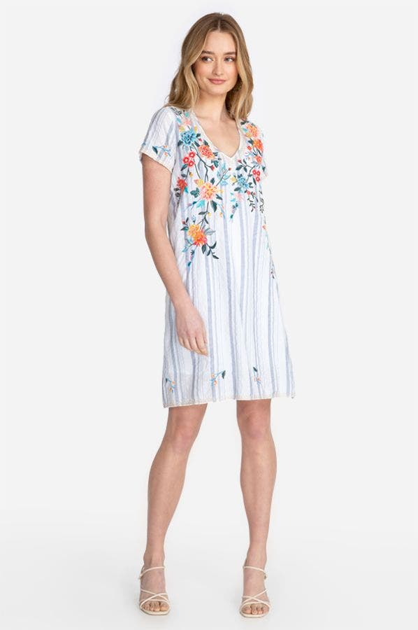 NORAH DRAPE TUNIC DRESS